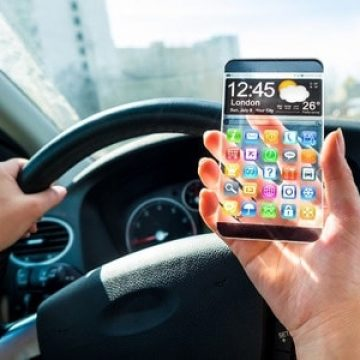 ענישה על שימוש בטלפון נייד בזמן נהיגה